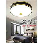Đèn Áp Trần Đồng PT6 OD-687-21 Ø320