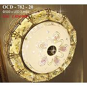 Đèn Trần Nghệ Thuật PT6 OCD-782-20 Ø500