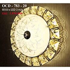 Đèn Trần Nghệ Thuật PT6 OCD-783-20 Ø500