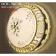 Đèn Trần Nghệ Thuật PT6 OCD-784-20 Ø500
