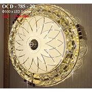 Đèn Trần Nghệ Thuật PT6 OCD-785-20 Ø500