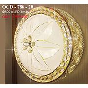 Đèn Trần Nghệ Thuật PT6 OCD-786-20 Ø500