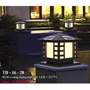 Đèn Trụ Cổng PT6 TD-16-20 Ø300
