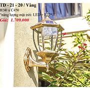 Đèn Vách Ngoại Thất PT6 TD-21-20/VANG Ø240xC450