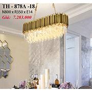 Đèn Chùm Pha Lê PT6 TH-878A-18 N800xR350