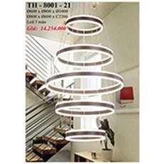 Đèn Thả Nghệ Thuật PT6 TH-8001-21 Ø600-Ø800-Ø1000