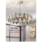 Đèn Chùm Pha Lê PT6 TH-8166 Ø600xC150