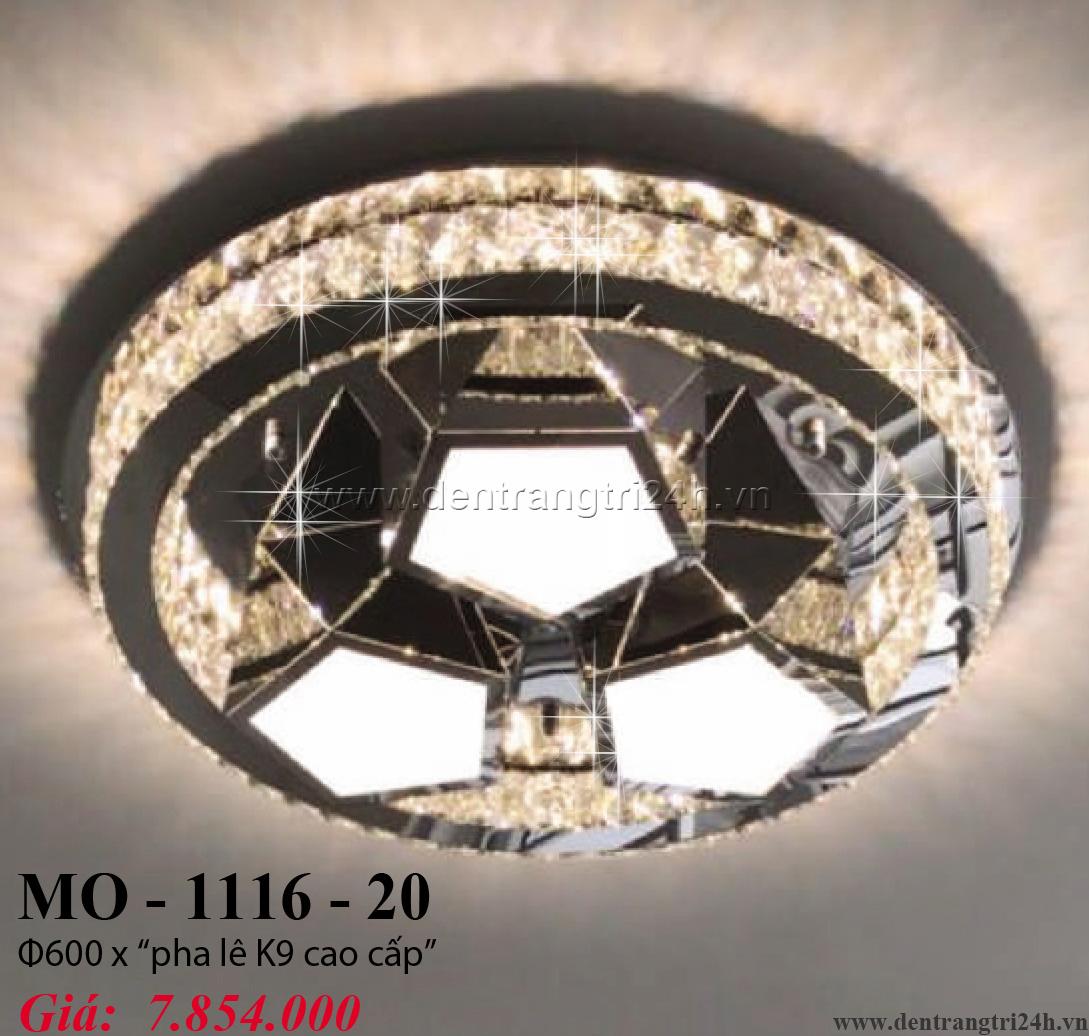 Đèn Mâm Pha Lê PT6 MO-1116-20 Ø600