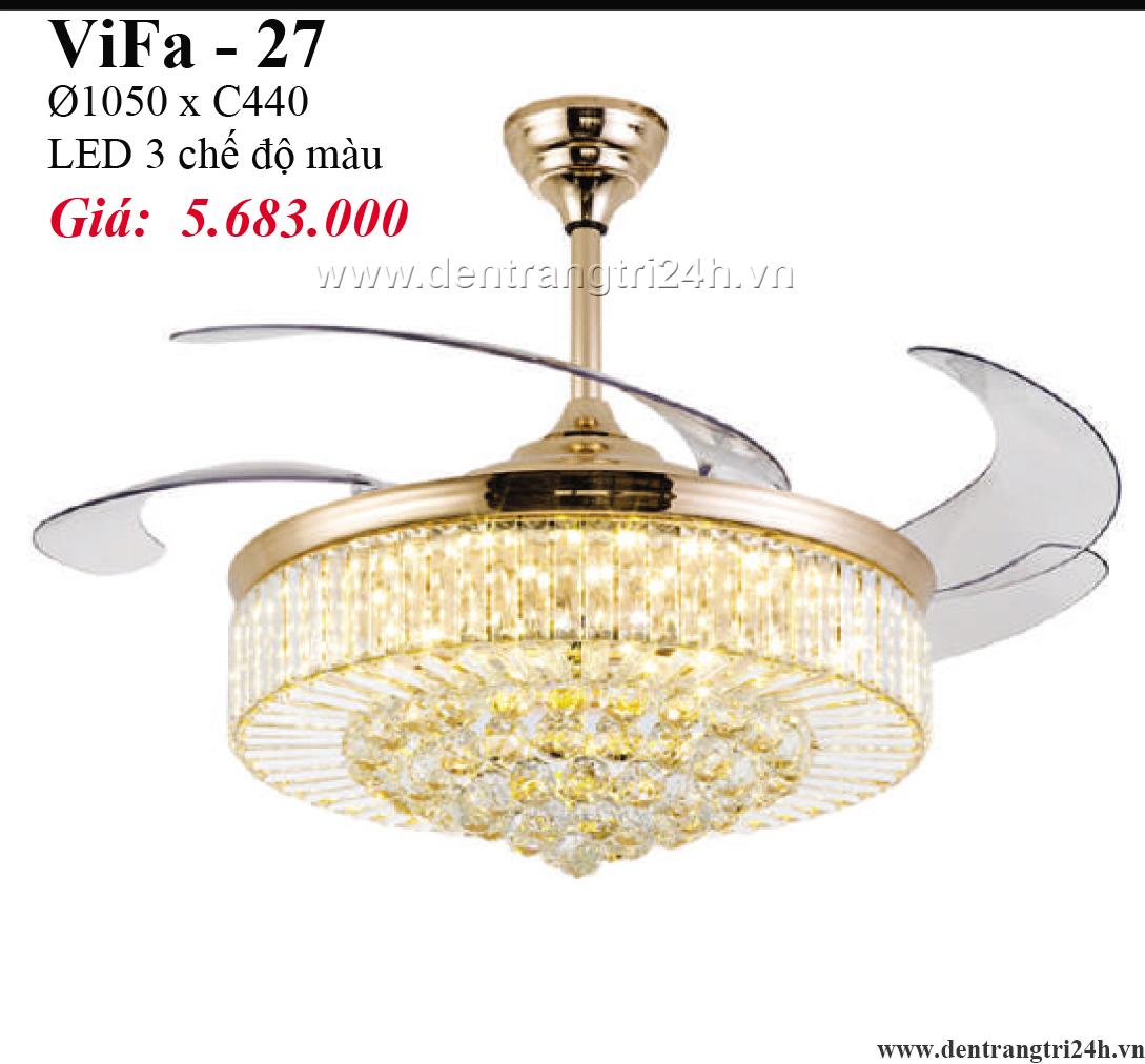 Đèn Quạt PT6 VIFA-27 Ø1050xC440