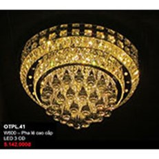 Đèn Mâm Pha Lê CTK5 OTPL.41 W600