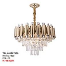 Đèn Chùm Pha Lê CTK2 TPL.88128T600 W600xH500