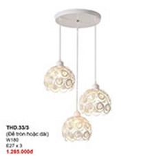 Đèn Thả Bàn Ăn CTK2 THD.33/3 W180