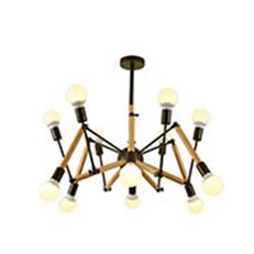 Đèn Chùm Nghệ Thuật CTK2 TTK21/12-GO W700xH600
