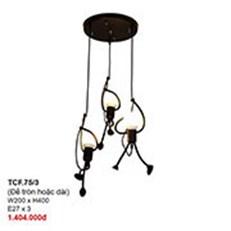 Đèn Thả Bàn Ăn CTK2 TCF.75/3 W200xH400