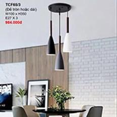 Đèn Thả Bàn Ăn CTK2 TCF65/3 W100xH350