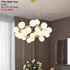 Đèn Chùm Nghệ Thuật CTK2 TTK.15/25-TRON Ø800