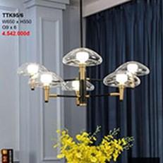 Đèn Chùm Nghệ Thuật CTK2 TTK95/6 W650xH550