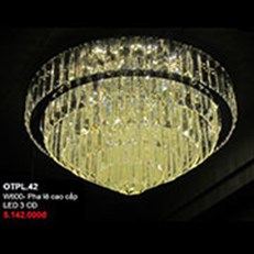 Đèn Mâm Pha Lê CTK5 OTPL.42 W600