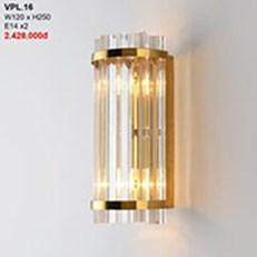 Đèn Tường Pha Lê CTK2 VPL.16 W120xH250