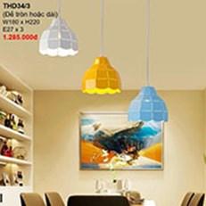 Đèn Thả Bàn Ăn CTK2 THD34/3 W180xH220