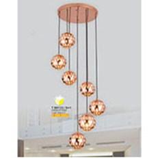Đèn Thả Bàn Ăn SN2 T 99133/6+1 Ø350xH1500