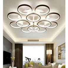 Đèn áp trần LED BMC1 ML-6001Y/8+4 Ø1100