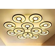 Đèn áp trần LED BMC1 ML-6067/8+4 Ø800