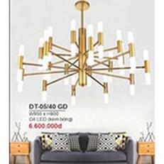 Đèn Chùm Nghệ Thuật BMC1 ĐT-05/40 GD W950xH800
