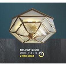 Đèn Áp Trần Đồng BMC1 MĐ-C6112/300 Ø300