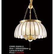 Đèn Thả Đồng KP6 D9050-5 Ø450xH300