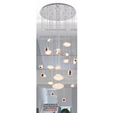 Đèn Thả Thông Tầng KP6 D58002-25 Ø800x2000