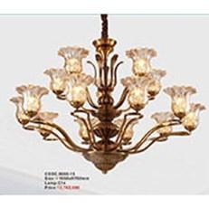 Đèn Chùm Châu Âu KP6 9008-15 Ø1060xH760