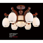 Đèn Chùm Gỗ KP6 86762-6+1 Ø780