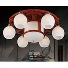 Đèn Chùm Gỗ KP6 86760-6+1 Ø800