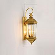 Đèn Vách Đồng PT5 VD-698-20 N220xC600