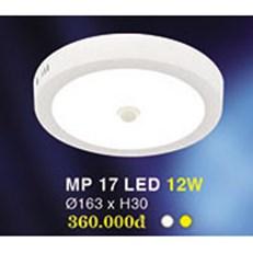 Đèn ốp nổi HP4 MP 17 Ø163xH30