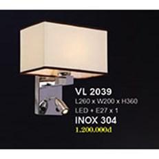Đèn Tường Trang Trí HP4 VL 2039 L260xW200xH360