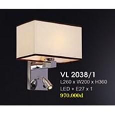 Đèn Tường Trang Trí HP4 VL 2038/1 L260xW200xH360