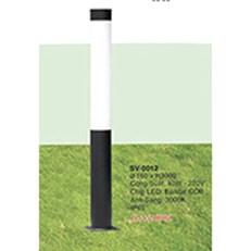 Đèn Trụ Sân Vườn VE2 SV-0012 Ø160xH3000