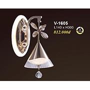 Đèn Tường Pha Lê VE2 V-1605 L140xH300