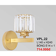 Đèn Tường Pha Lê CTK6 VPL.22 L140xH240