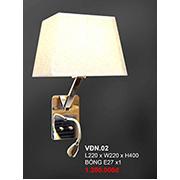 Đèn Đọc sách đầu giường CTK6 VĐN.02 L220xW220xH400