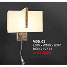 Đèn Tường Trang Trí CTK6 VDN.03 L300xW180xH370