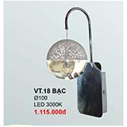 Đèn Tường Pha Lê CTK6 VT.18 BAC Ø100