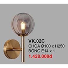 Đèn Tường Trang Trí CTK6 VK.02C Ø100xH250