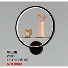 Đèn Ốp Tường CTK6 VK.36 Ø300