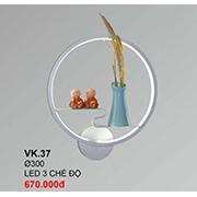 Đèn Ốp Tường CTK6 VK.37 Ø300