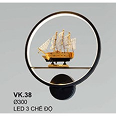 Đèn Ốp Tường CTK6 VK.38 Ø300