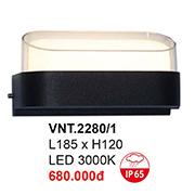 Đèn Vách Ngoại Thất CTK6 VNT.2280/1 L185xH120