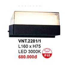 Đèn Vách Ngoại Thất CTK6 VNT.2281/1 L160xH75